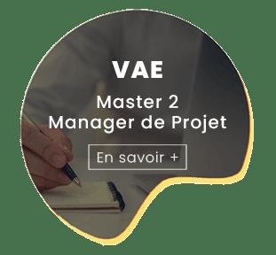 VAE master 2 manager de projet en savoir+